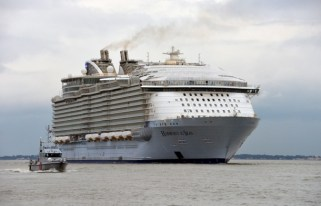 Royal Caribbean's Harmony of the Seas, via @TravelLatte.net