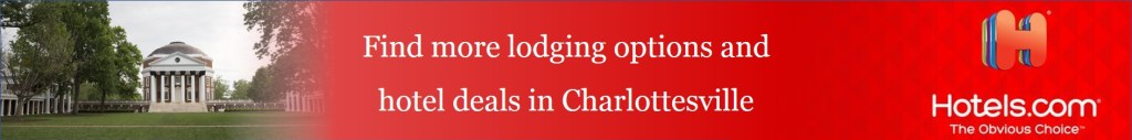Find lodging options and hotel deals in Charlottesville, VA on Hotels.com via @TravelLatte.net