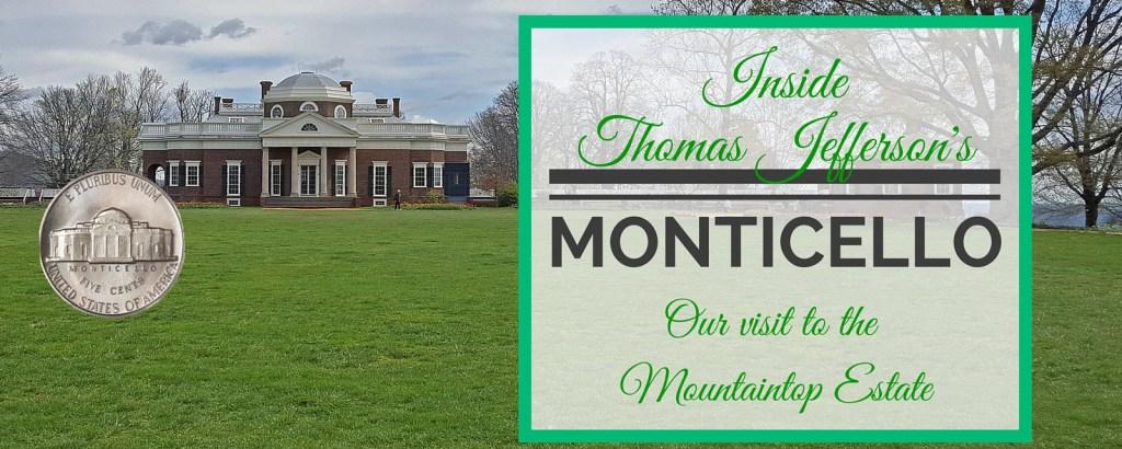 Inside Jefferson's Monticello via @TravelLatte.net