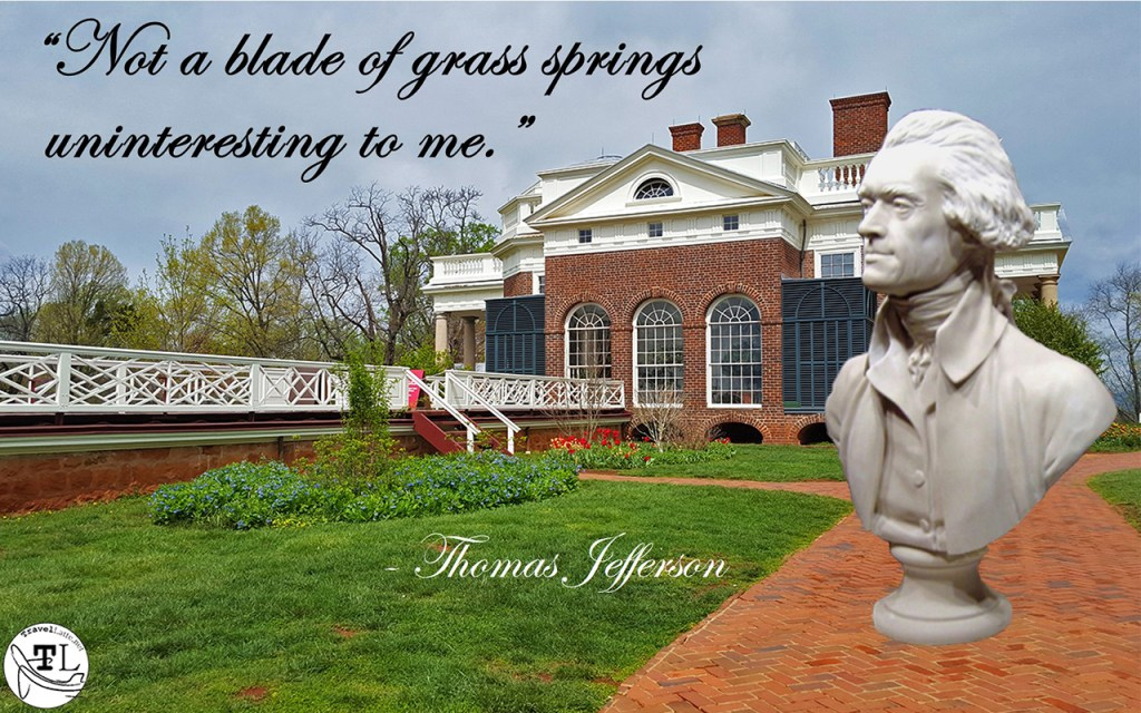 Inside Thomas Jefferson's Monticello via @TravelLatte.net
