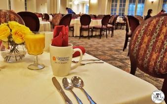 Abbott Center Dining Room at UVA via @TravelLatte.net