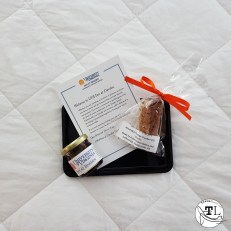 Welcome Gift at the Inn at Darden via @TravelLatte.net
