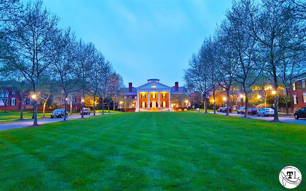 Saunders Hall at UVA via @TravelLatte.net