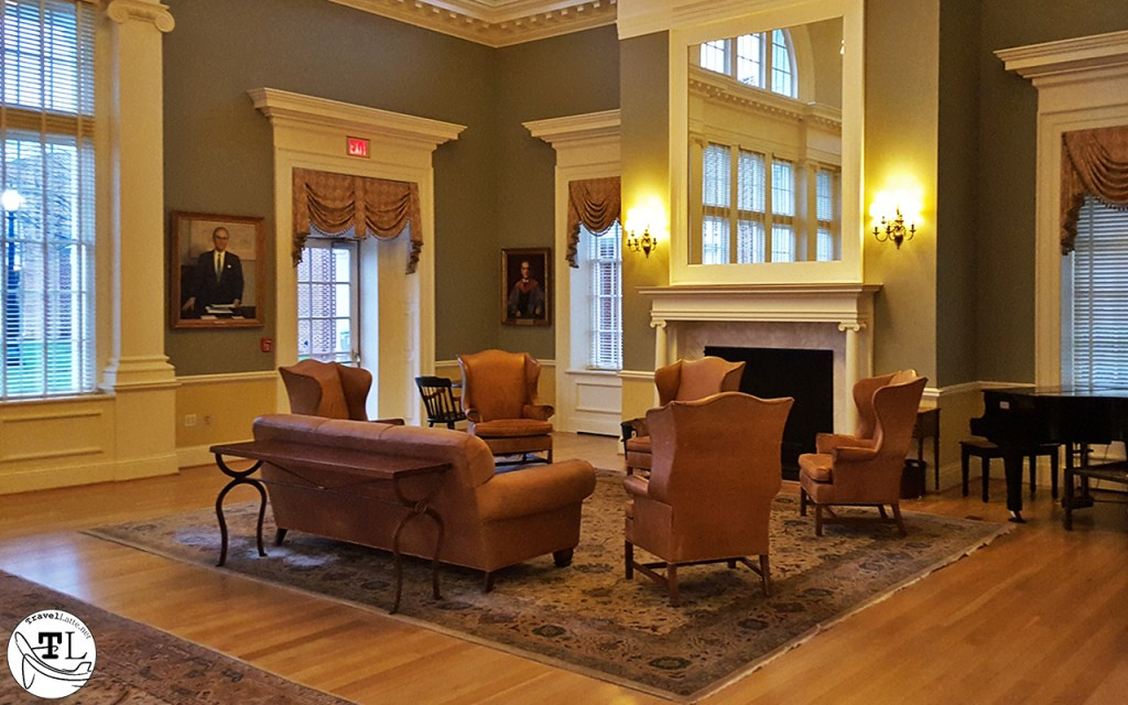 Inside Saunders Hall at UVA via @TravelLatte.net