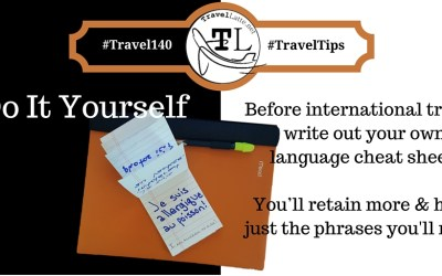 Do It Yourself Cheat Sheets - Travel Tips via @TravelLatte.net