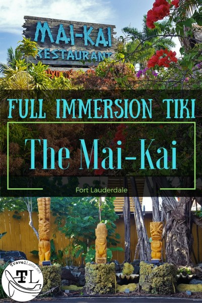 There is a rift in the space-time continuum at the Mai-Kai Polynesian Restaurant, where post-modern coolness mixed with Tiki pop culture has taken root. Via @TravelLatte.net