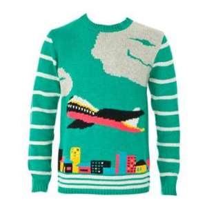 Ugly Airplane Sweater via @TravelLatte.net