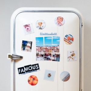 Turn your fridge into a travel photo gallery with squared.one, via TravelLatte.net