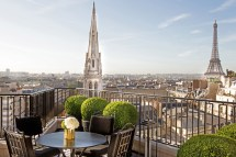 Paris Hotels with Balcony Views