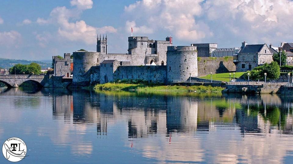 King John's Castle in Top 5 Castle Day Trips from Dublin via @TravelLatte.net