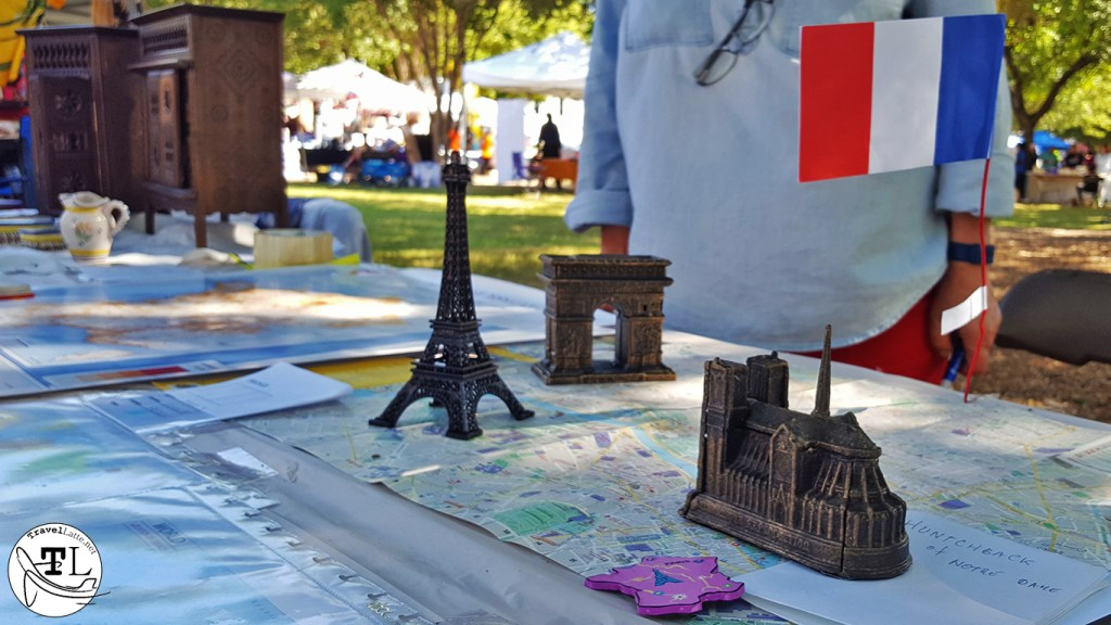 Monuments of Paris at the Plano International Festival via TravelLatte.net
