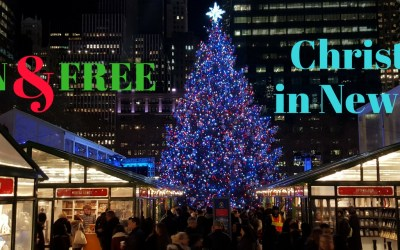 Christmas in New York via TravelLatte.net