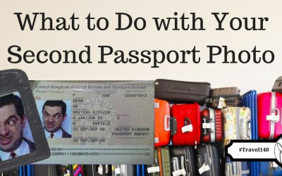 Travel Tips: What to Do with your Second Passport Photo, via @TravelLatte.net
