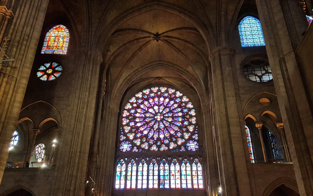 Notre Dame's Rose Window - The Most Magnificent Windows in Paris via @TravelLatte.net
