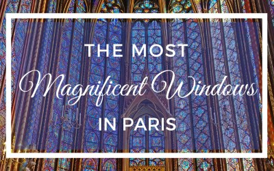 The Most Magnificent Windows in Paris at Sainte Chapelle via @TravelLatte.net