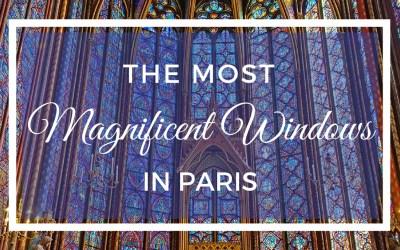 The Most Magnificent Windows in Paris at Sainte Chapelle via @TravelLatte.net