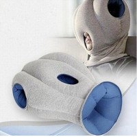 The Ostrich Pillow - Travel Tips: How to quiet chatty seatmates - Via @TravelLatte.net