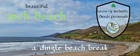 Gems of Ireland's Dingle Peninsula: Inch Beach, via @TravelLatte