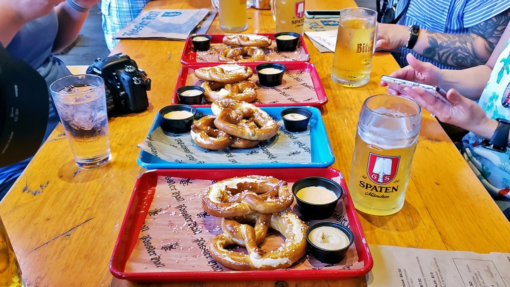 Beer and Pretzels at Fassler Hall - Why You Should Visit Oklahoma City via @TravelLatte.net