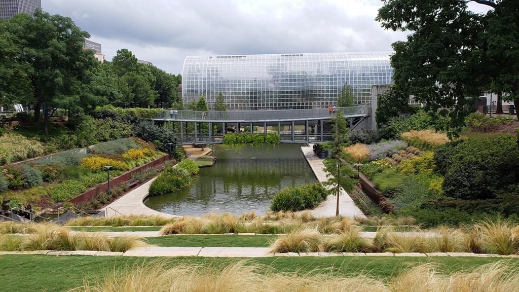 Myriad Gardens Atrium - Why You Should Visit Oklahoma City via @TravelLatte.net