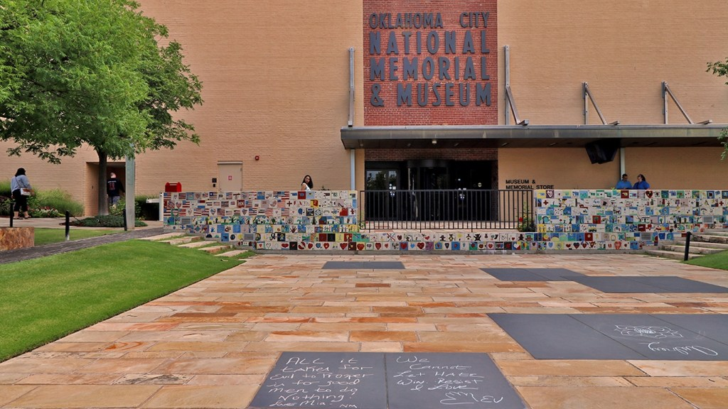 Oklahoma City National Memorial & Museum - Why You Should Visit Oklahoma City via @TravelLatte.net
