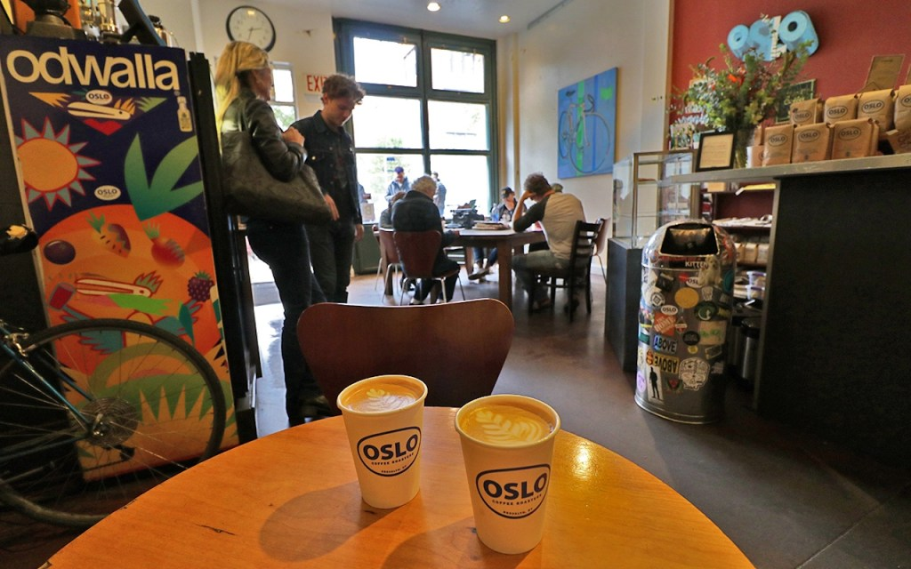 Oslo Coffee - Lattes to Go - TravelLatte.net