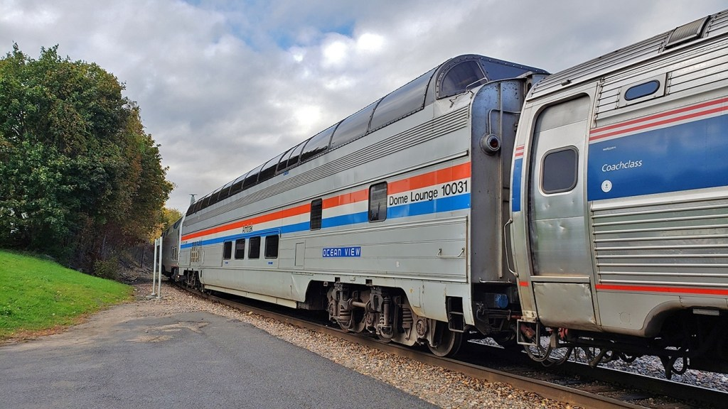 The Great Dome Car Ocean View in Plattsburgh NY