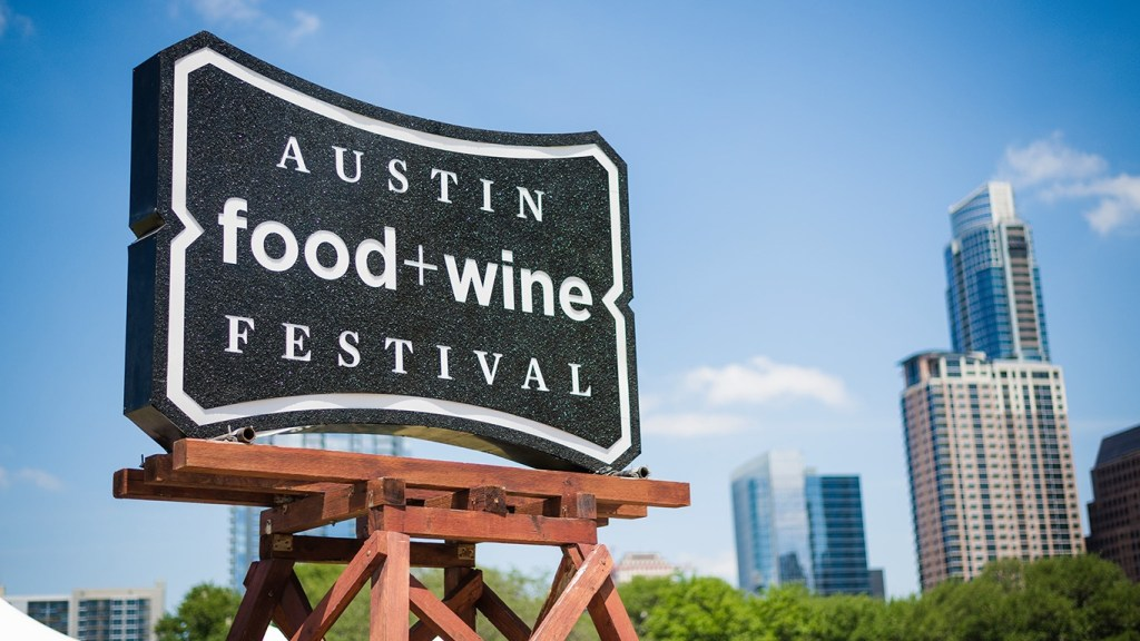 Spring Festivals in Texas - Austin Food and Wine Festival