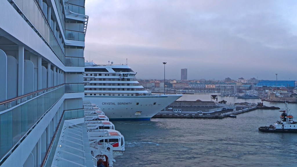 TravelLatte - Why We Love to Cruise - Ships at Dock