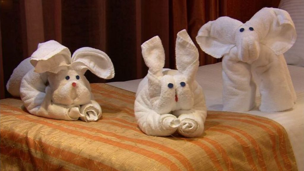 Carnival Cruises Towel Animals - Cruise Life - Armchair Traveler - TravelLatte