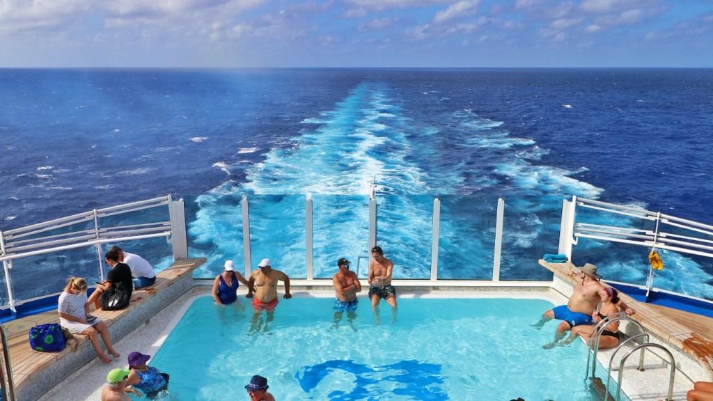 Princess Cruise Wake Pool - Cruise Life - Armchair Traveler - TravelLatte