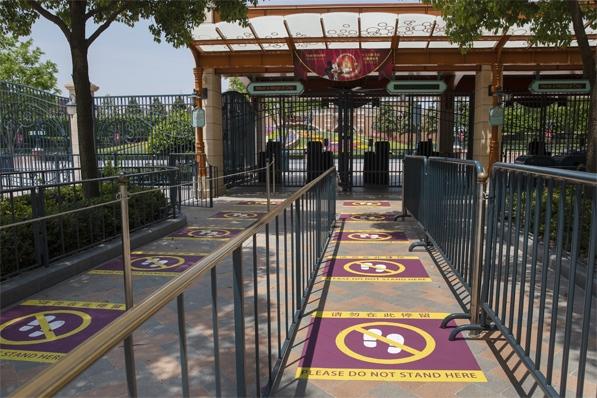 Disney World Reopening - Social Distancing at Disney Shanghai - TravelLatte