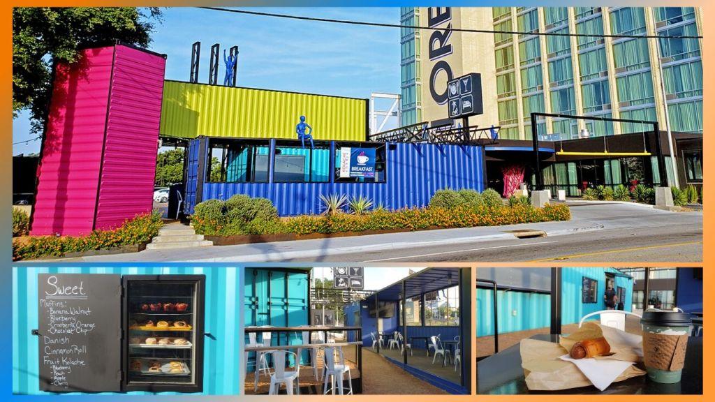 Staying at the Lorenzo Hotel - Kolache Stop Collage - TravelLatte