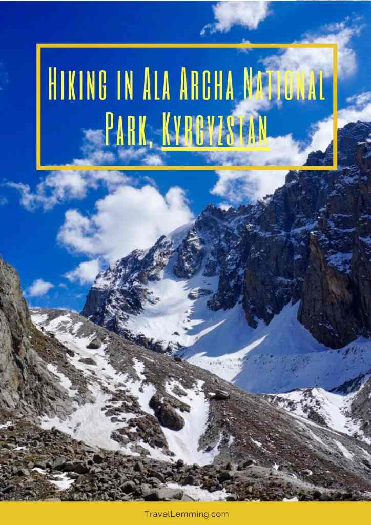 Your guide to gorgeous hiking in Ala Archa National Park, Kyrgyzstan - just a short trip from Bishkek and easy to do as a day hike.