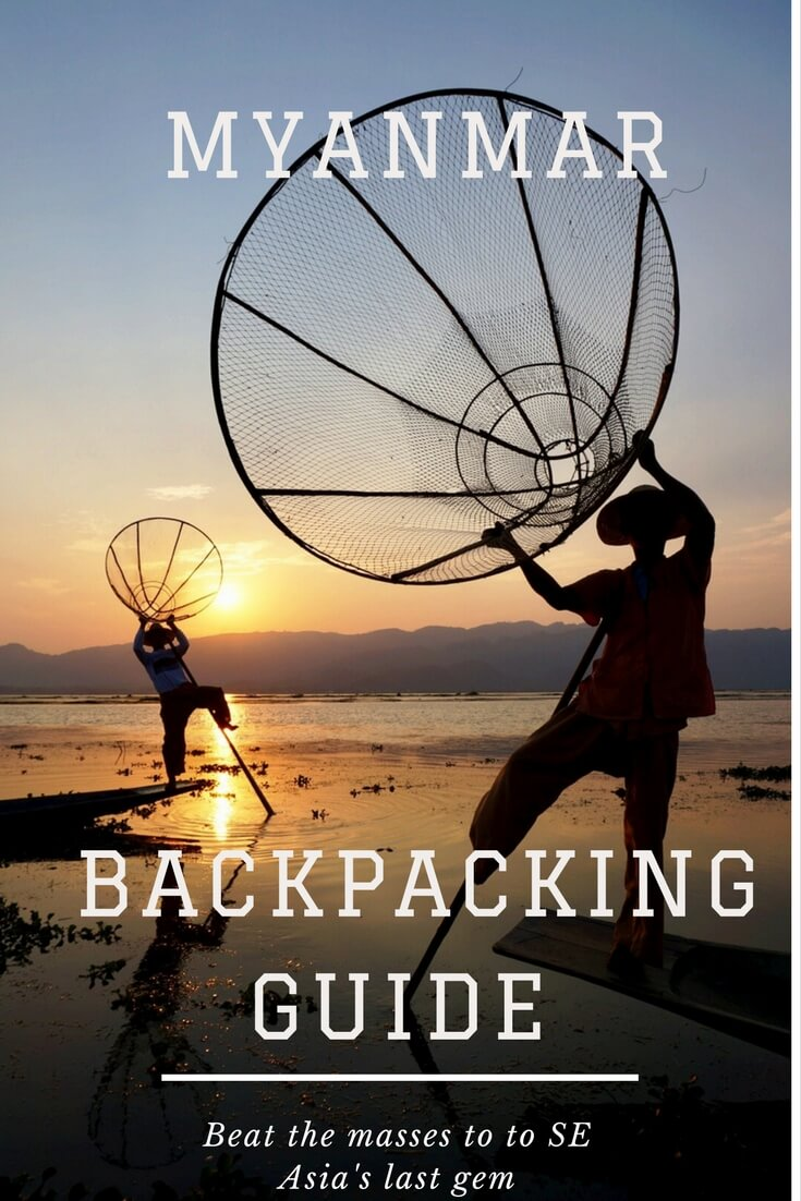 Backpacking Myanmar - Pinterest