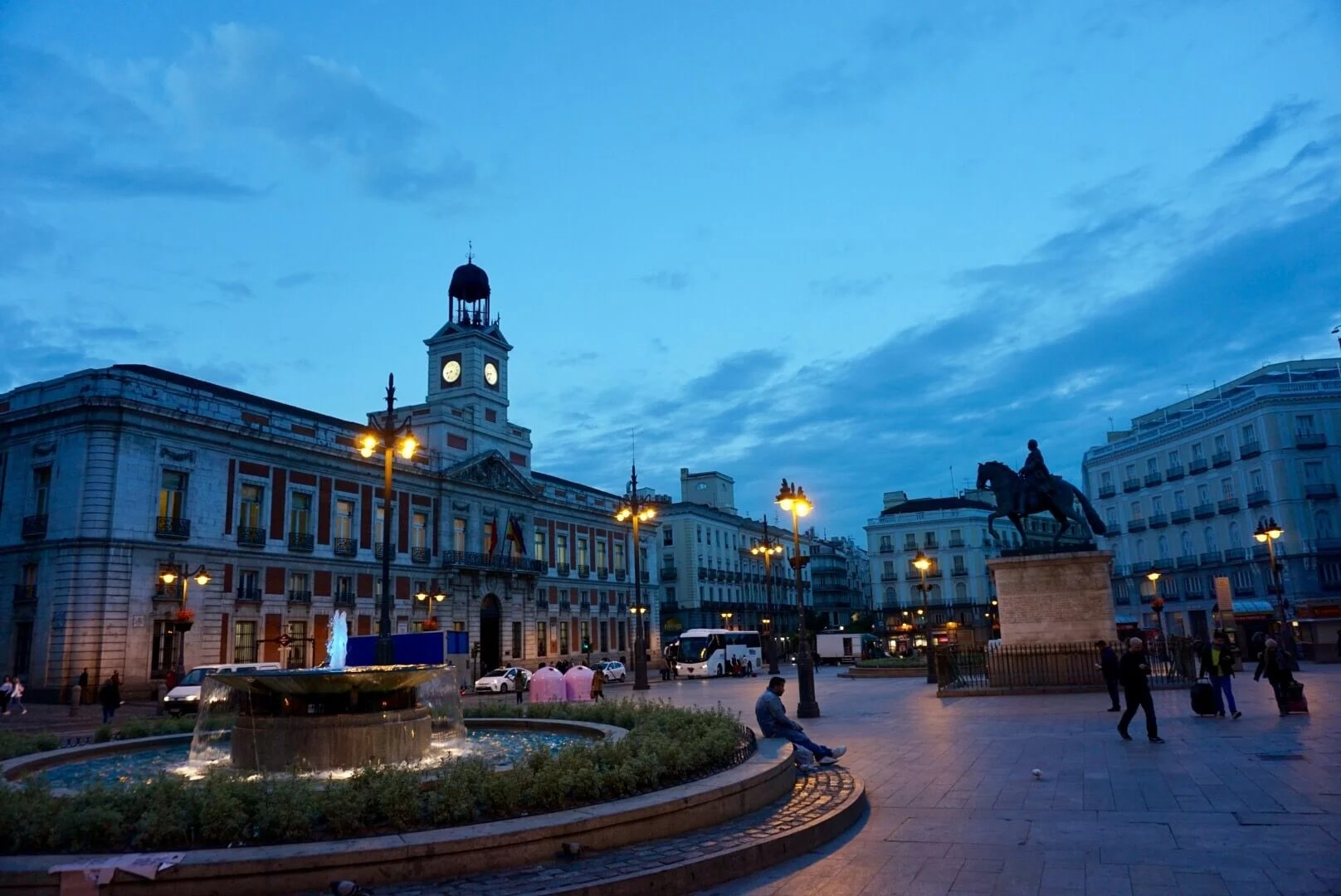 Madrid Photography of Puerta del Sol