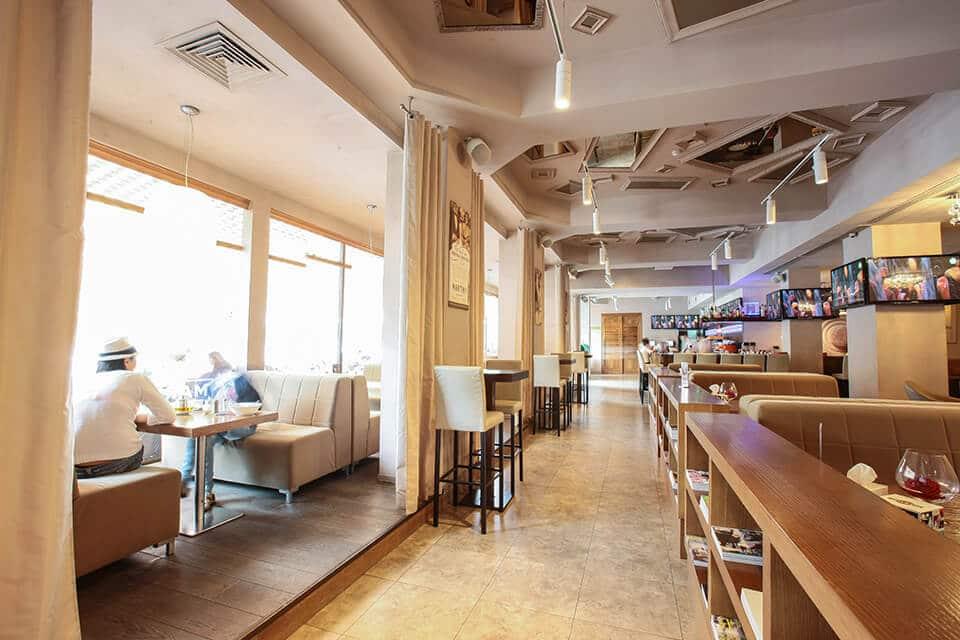 Coffeeroom Cafe in Almaty