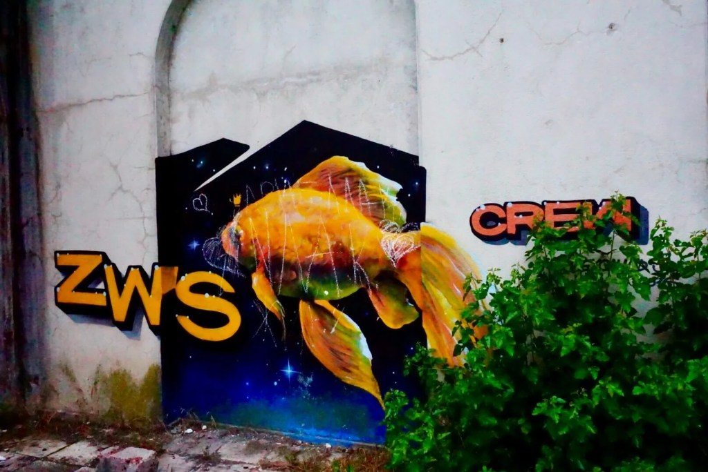 What to do in Abkhazia: Graffiti in Abkhazia