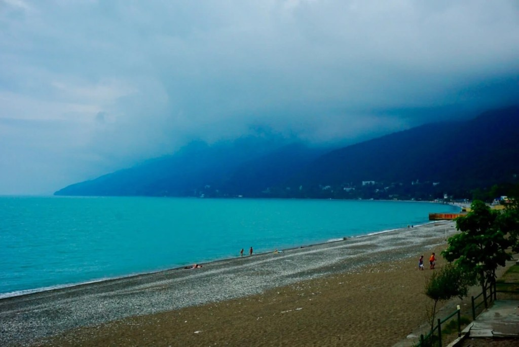 The Black Sea resort of Gagra