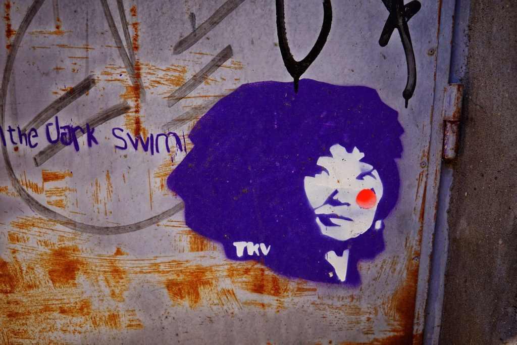 Belgrade Street Art: Yoko Ono