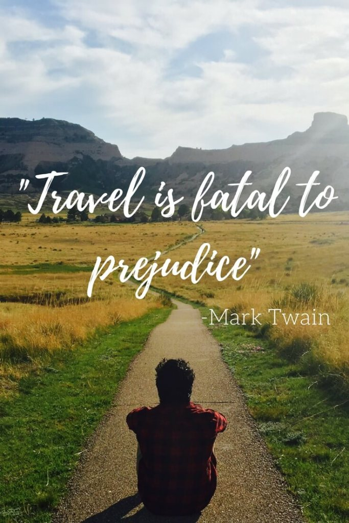 """Travel is fatal to prejudice, bigotry, and narrow-mindedness"" - Mark Twain. A series of short reflections on how travel kills prejudice and bigotry."