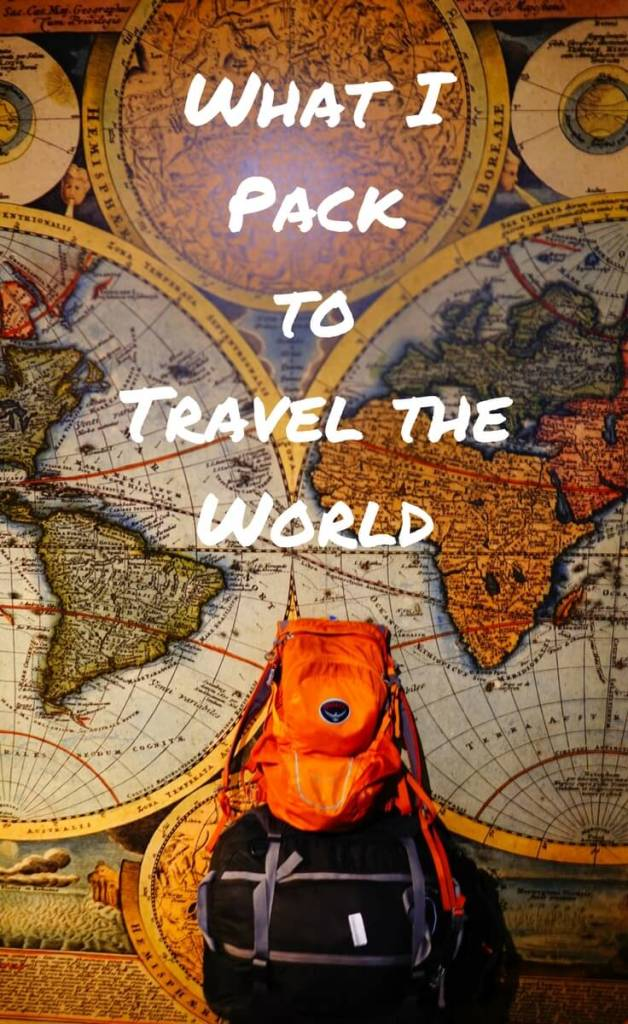 Here's What I've Packed for a Year Long Trip Around the World. My backpacks have a lot less in them than you might think. Here's how I pack them for a variety of destinations!
