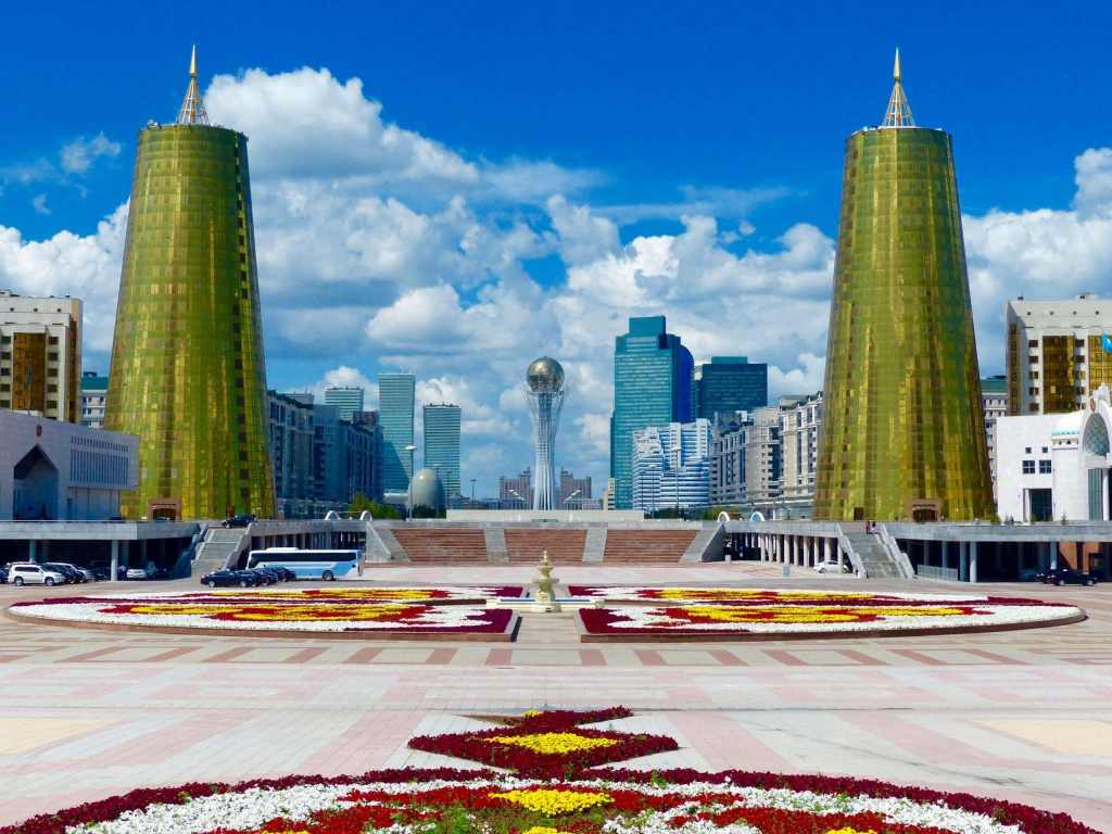 top places to visit in asia Astana