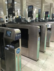 Smart gates to speed your journey