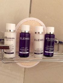 Elemis toiletries