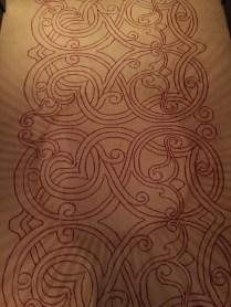 Decorated carpet