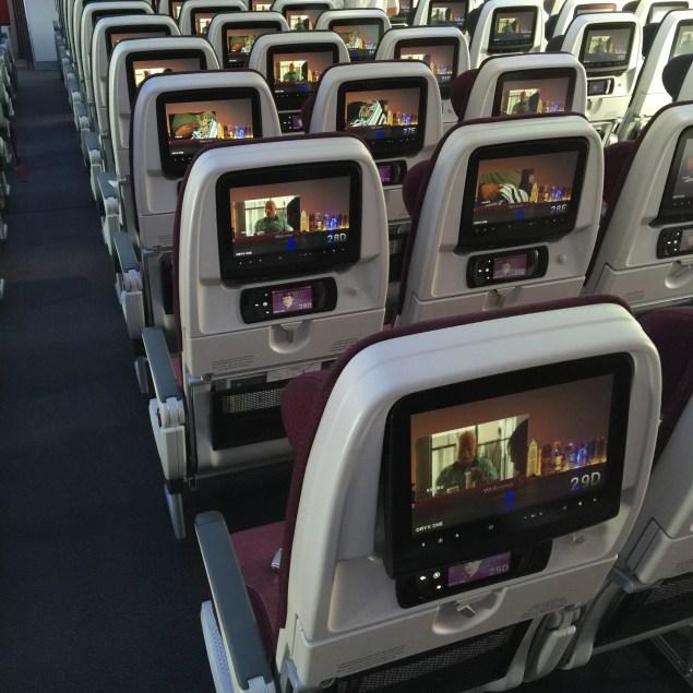 Economy Class Seats