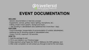 @TravellersID Videography Services - Event Documentation