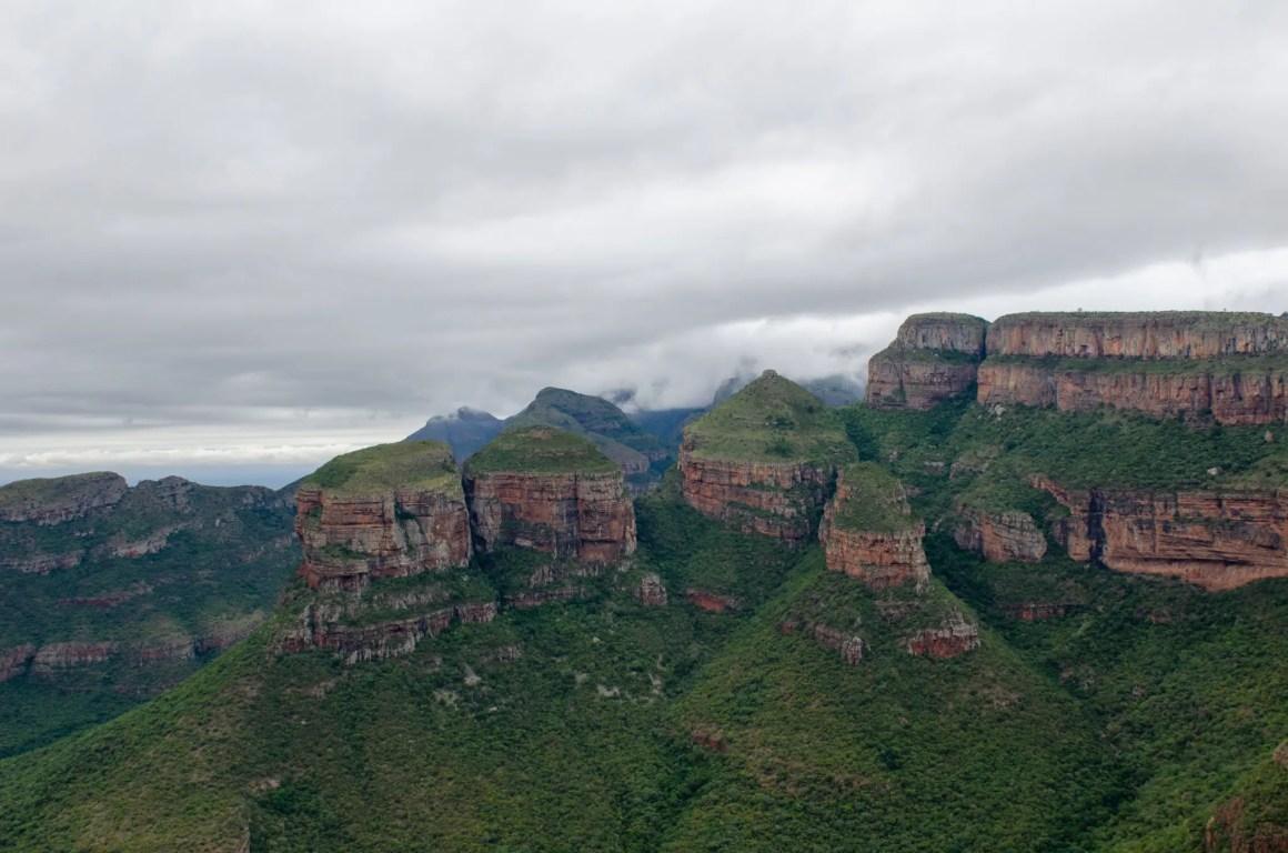 Uitzicht op de Drakensbergen