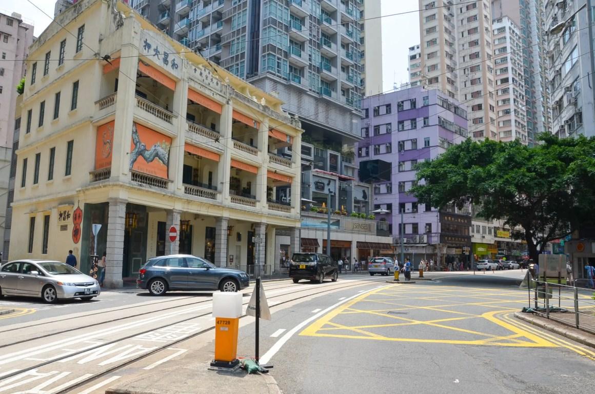 Centraal Hong Kong heeft veel bars en restaurants